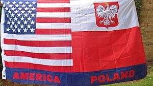 polish american novelty flag - American