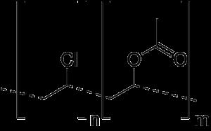 Polyvinyl chloride acetate - Image: Polyvinyl chloride acetate