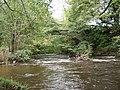 Pont-y-blew bridge over Afon Ceiriog - geograph.org.uk - 68878.jpg
