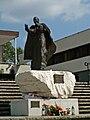 Pope John Paul II Wind of Hope monument,Ark of Our Lord Church,Nowa Huta,Krakow,Poland.jpg