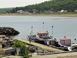 Harbour at Port-Daniel–Gascons