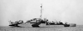 USS <i>OFlaherty</i> John C. Butler-class destroyer