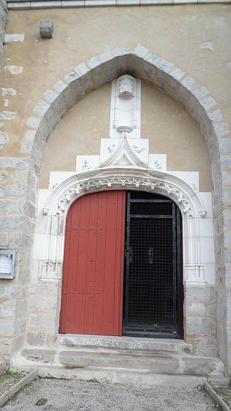 Portail de l'Eglise Saint-Loup-d'Ordon (Yonne) France