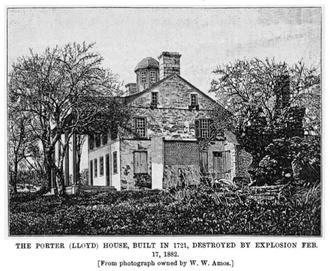 David Lloyd (judge) - Porter (Lloyd) House