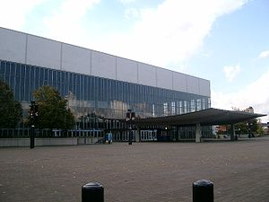 Das Veterans Memorial Coliseum in Portland
