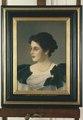 Porträtt. Irma von Geijer av Julius Kronberg - Hallwylska museet - 21672.tif
