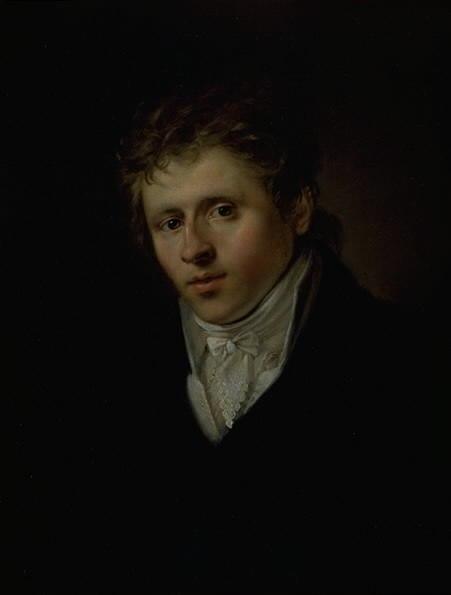 Portrait of J.C. Dahl (Christian Albrecht Jensen)
