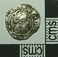 Post Medieval Coin , Henry VIII Penny (obverse) (FindID 581858).jpg