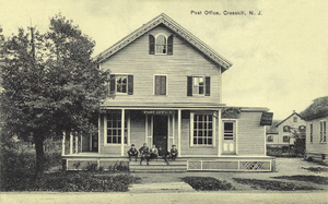 Cresskill, New Jersey - The post office in Cresskill, circa 1915