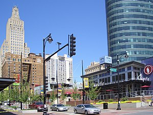 Downtown Kansas City - Kansas City Power and Light District