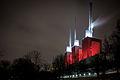 Power Station Hanover Germany Red Illuminated 2013.jpg