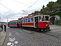 Průvod tramvají 2015, 12a - tramvaj 2294 a 608.jpg