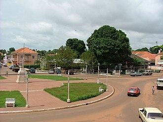 Bissau - Image: Praça Che Guevara, Bissau