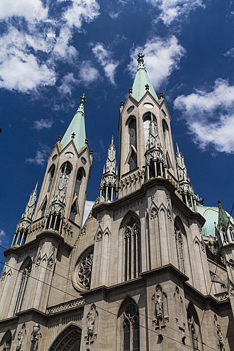 São Paulo Cathedral - Image: Praça da se 01