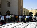 Prayers of Noon - Grand Mosque of Nishapur -September 27 2013 49.JPG
