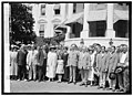 Pres. & Mrs Coolidge with Natl. Fraternal Congress, 8-29-24 LCCN2016849440.jpg