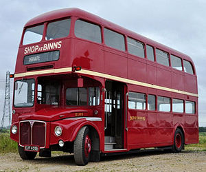 Northern General Transport Company - Preserved AEC Routemaster in December 2011