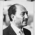 President Sadat van Egypte, kop, Bestanddeelnr 931-5437.jpg