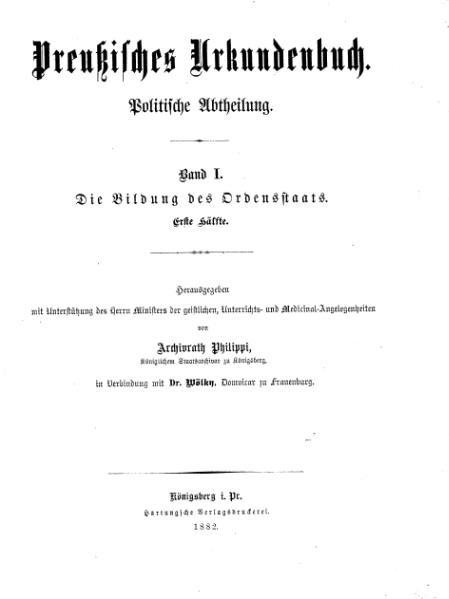 File:Preußisches Urkundenbuch 1-1.djvu