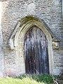 Priest door, St James the Great, West Hanney - geograph.org.uk - 771262.jpg