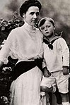 Prince Bernhard with his mother.jpg
