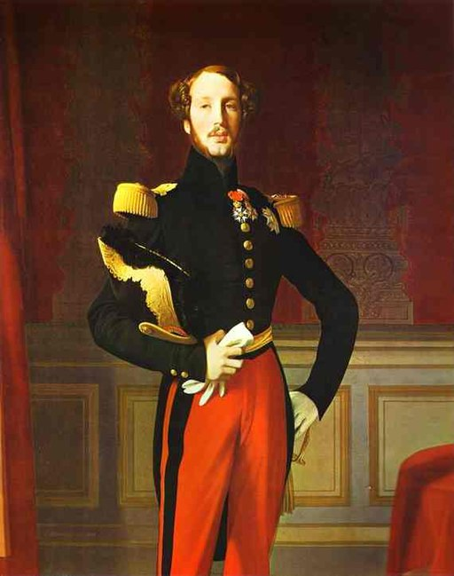Prince Ferdinand Philippe, Duke of Orléans by Ingres, 1832