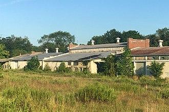 Princeton Nurseries - Image: Princeton Nurseries, Middlesex County, NJ Storage Building