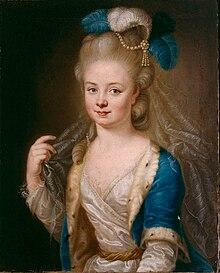 Maria Anna von Pfalz-Zweibrücken (Gemälde von Heinrich Carl Brandt) (Quelle: Wikimedia)