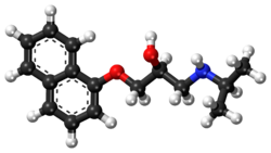 Propranolol ball-and-stick model.png