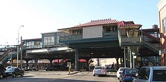 Prospect Avenue (IRT White Plains Road Line) - Northbound station house