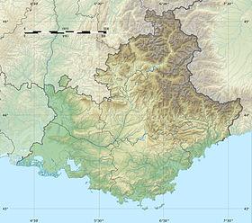 (Voir situation sur carte: Provence-Alpes-Côte d'Azur)