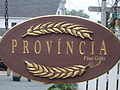 Provincia gift shop sign, Provincetown, MA, USA.JPG