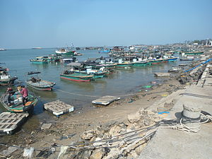 Wenchang - Puqian's port
