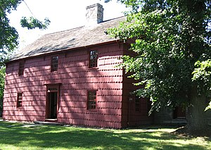 Putnam Cottage - Image: Putnam Cottage Knapps Tavern Greenwich CT08312008