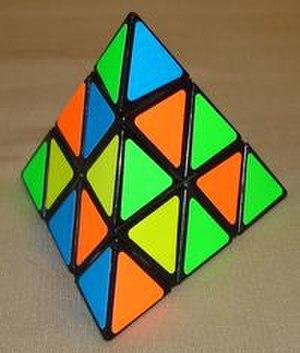 Pyraminx - Scrambled Pyraminx