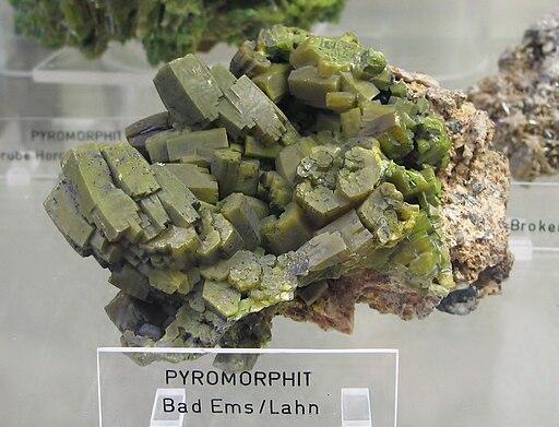 Pyromorphit - Bad Ems, Lahn