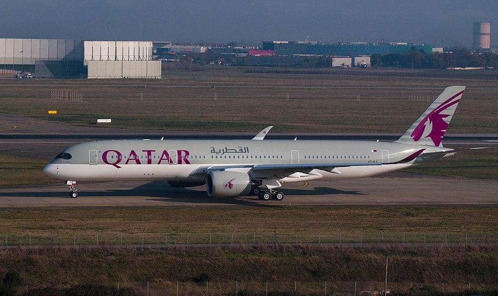 QTR A350 A7-ALA 23dec14 LFBO-2