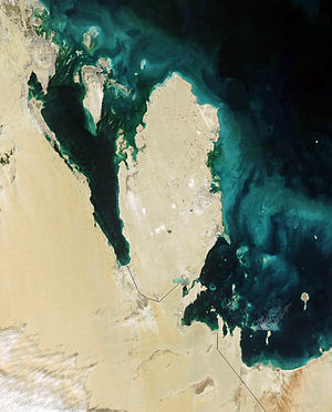 Geography of Qatar - Qatar in January, 2003