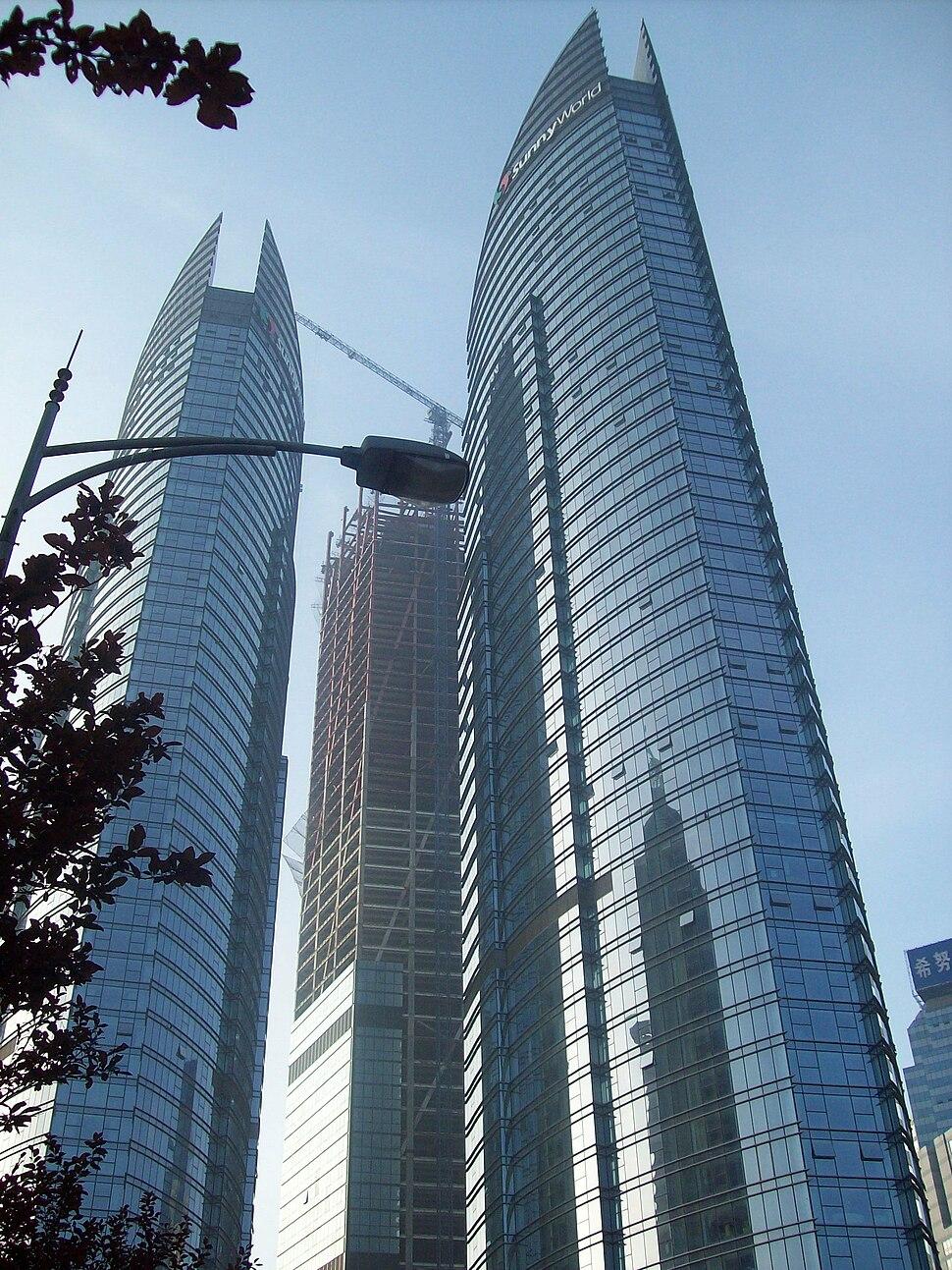 Qingdao skyscrapers