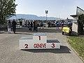 Quai du Mont-Blanc (Genève) - podium d'une course à pied.JPG