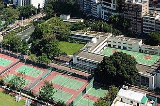 Queen's College, Hong Kong - Queen's College campus