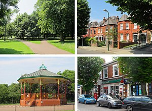 Queen's Park, London - Image: Queen's Park montage