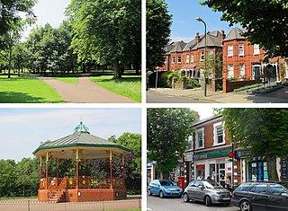 Queens Park, London Human settlement in England