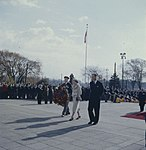 Queen Elizabeth and Prince Philip, the National War Memorial.jpg