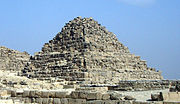 Henutsen's pyramid at Giza