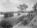 Queensland State Archives 1834 Burdekin River with a pump installation November 1955.png