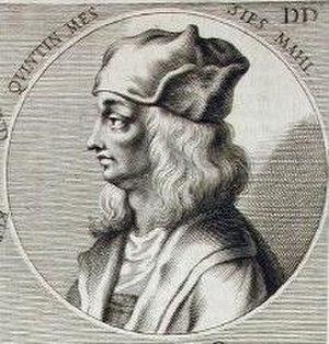 Quentin Matsys - Quentin Matsys, engraved by Joachim von Sandrart for his Teutsche Akademie