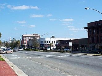 Quitman, Georgia - US 84, part of the Quitman Historic District