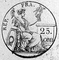 République Française - Wertstempel 25 centimes.jpg