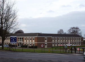 RAF Halton - Entrance to RAF Halton.